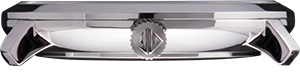 Silver Classic London Watch - Swiss Quartz Movement profile view