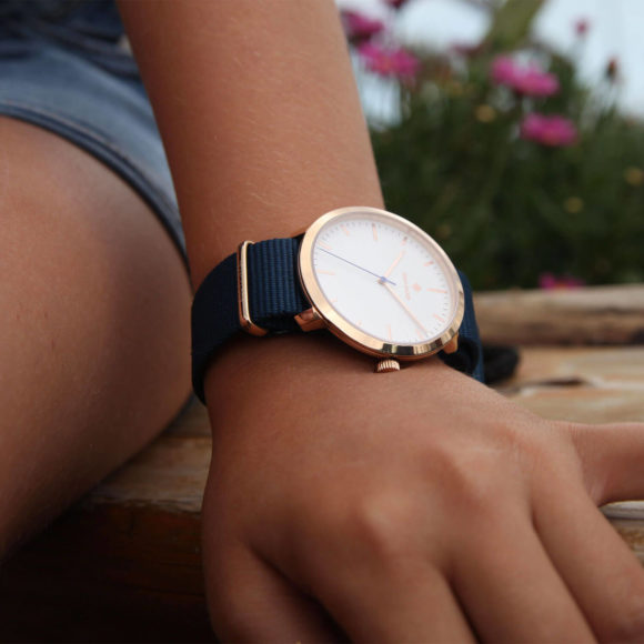 Amsterdam Rose Gold 40mm Watch