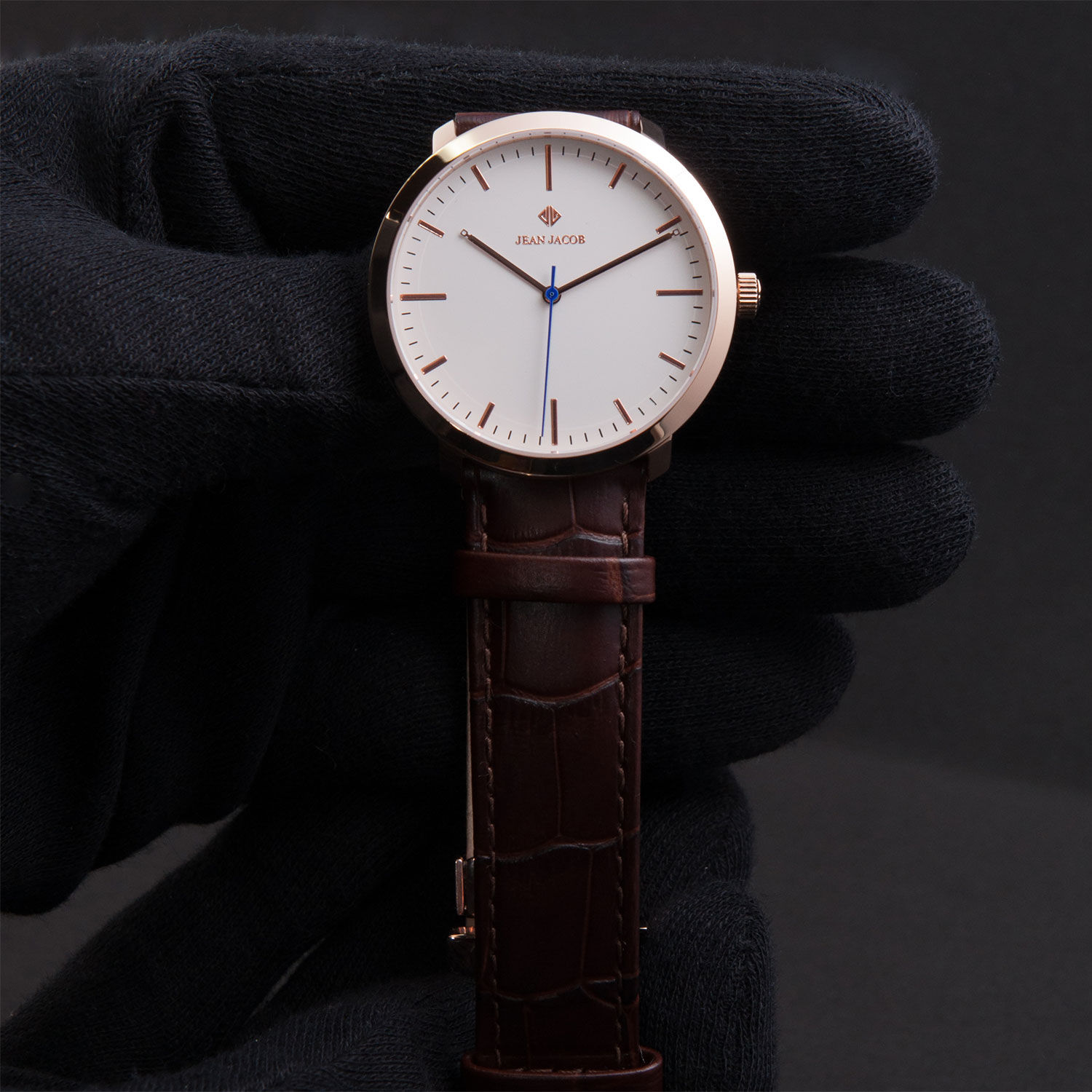 Classic Zurich Rose Gold Watch JEAN JACOB