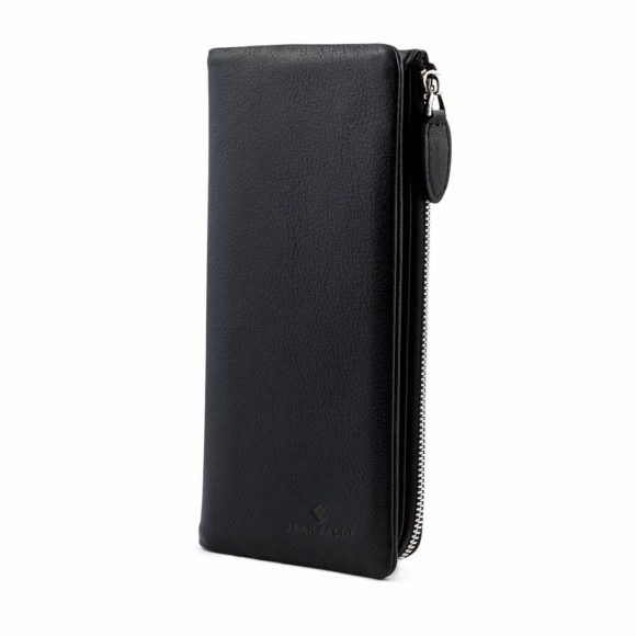Milan Black Leather Wallet