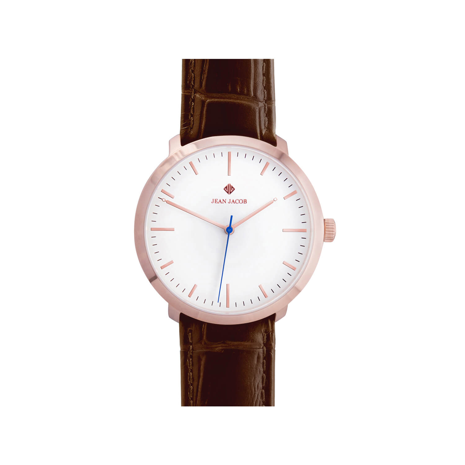 case leather titanium dial zoom women thin strap white product s unisex davis ultra men l nubuck watches watch beige design